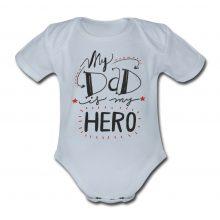 Otroški bodi - My dady is my HERO - MOJ ati MOJ heroj