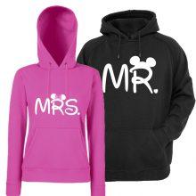 Komplet puloverjev za par - MRS&MR z miki miško