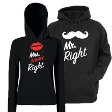 Komplet puloverjev za par - Mrs&Mr always right