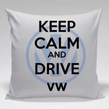 Vzglavni - keep calm and drive VW volkswagen
