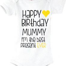 Otroški bodi - Vse najboljše MAMI za rojstni dan