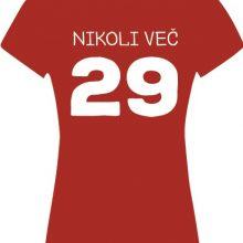 Majica - Nikoli več 29 - ROJSTNI DAN