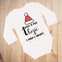 Otroški bodi - Moj 1. božič