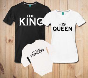 Družinski komplet - King, queen, princess