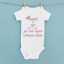 Otroški bodi - Mami + ati = najlepše darilo