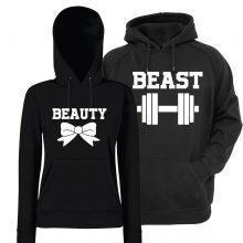 Komplet puloverjev za par - Beauty/Beast