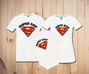 Družinski komplet - SUPERMAN - [RAZLIČNI MOTIVI]