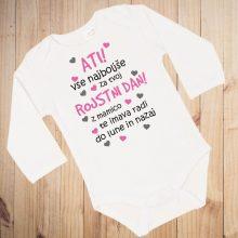 Otroški bodi -Voščilo za rojstni dan