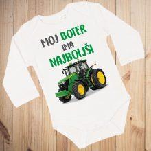 Otroški bodi - Moj boter ima najboljši traktor