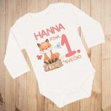 Otroški bodi - Prvi rojstni dan - LISIČKA