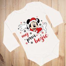 Otroški bodi - Moj prvi božič Miki miška