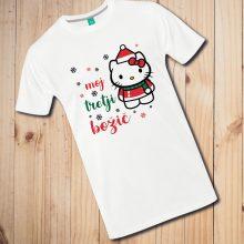 Otroška majica - Moj tretji božič - Motiv po vaših željah