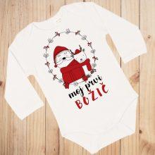 Otroški bodi - Moj prvi božič - Božičnek in jelenček