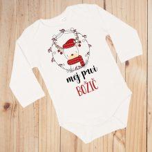 Otroški bodi - Moj prvi božič - božični jelenček