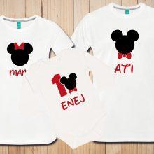 Družinski komplet - Praznovanje eno leto - Miki miška - mickey mouse