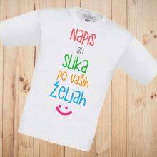 Otroška majica - Tisk motiva ali fotografije po vaši želji