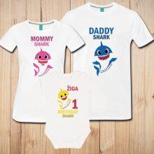 Družinski komplet - Prvi rojstni dan - BABY SHARK