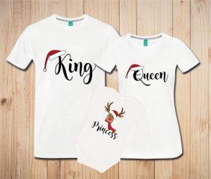 Družinski komplet - BOŽIČ - king/queen/prince/princess - BOŽIČNI PRAZNIKI