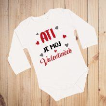 Otroški bodi - VALENTINOVO - Ati je moj valentinček