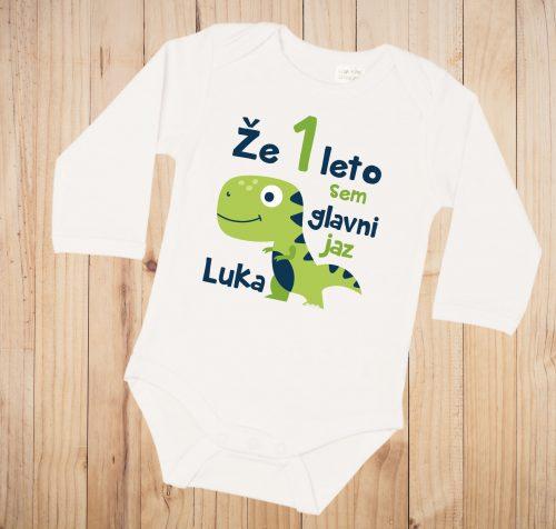 Otroški bodi - Že eno leto sem glavni jaz - DINO - Dinozaver