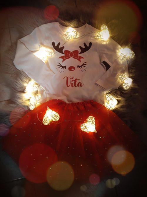 Otroška majica - Božični jelenček - BOŽIČ