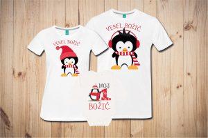Družinski komplet - BOŽIČNI PRAZNIKI - pingvini