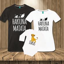 Družinski komplet - Hakuna matata - Levji kralj - LION KING