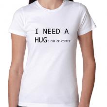 MAJICA - I NEED HUGe cup of coffee